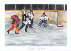 SHOOT! SHOOT! - RINGETTE ART